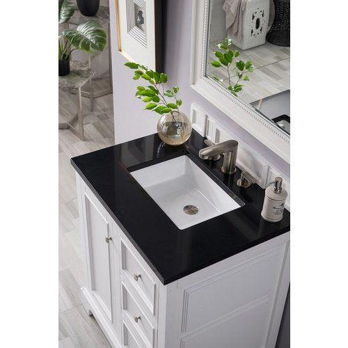 Ove Decors Sophia 42 In White Single Sink Bathroom Vanity With Black Granite Top Lowes Com Single Sink Bathroom Vanity 42 Inch Bathroom Vanity Bathroom Vanity