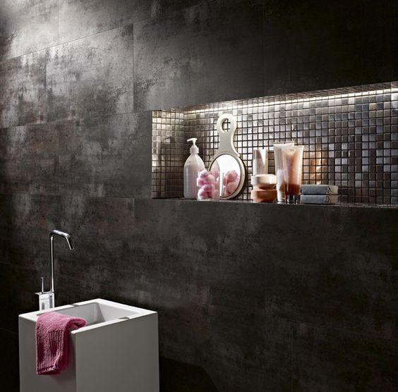 Mosaikfliese für Badezimmer / Feinsteinzeug / poliert GIBA CLIPER CERÂMICA