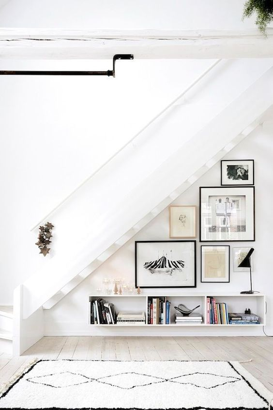 10 things to do with the space under the stairs