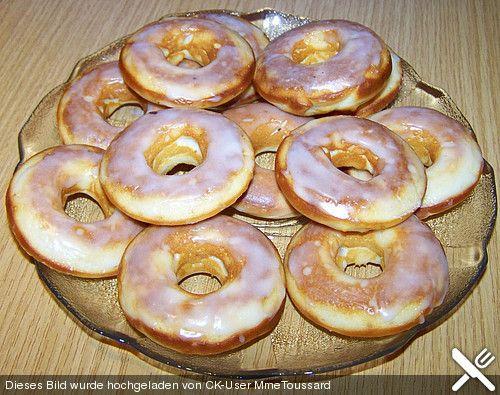 Donuts fürs Backblech ohne Ei