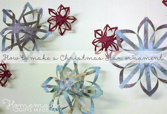 woven star ornament instructions