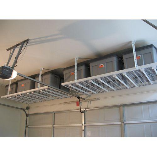 Diy Garage Storage Overhead Storage 4x8 For The Home