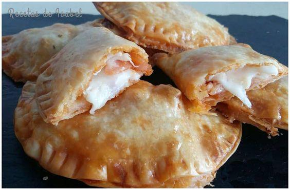 Deliciosas #empanadillas de #pizza con #tomatefrito IBSA #Bierzo