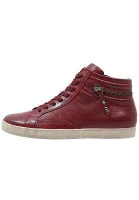 Sneaker high - dark red