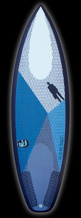 Monsta | Carbon Footprint Titanium II tri lemon/lime/aqua – Proctor Surfboard Shop