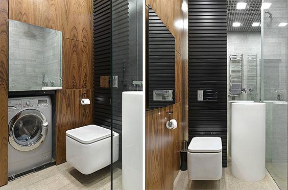 30 banheiros pequenos decorados para você se inspirar - limaonagua