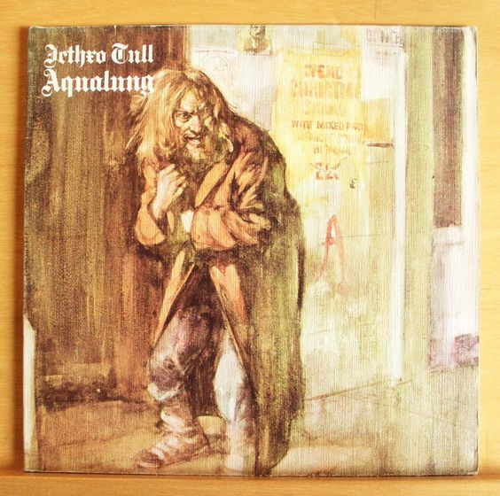 JETHRO TULL Aqualung Vinyl LP Locomotive Breath Cross-Eyed Mary Mother Goose RAR