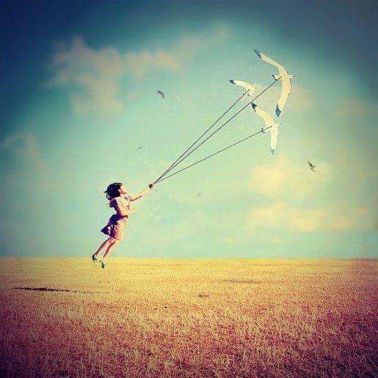 by Julie de Waroquier: De Waroquier, Dreamy Photos, Escape Julie, Sweet Escape, Fly Fly, Quotes Dreams, Pictures Quotes