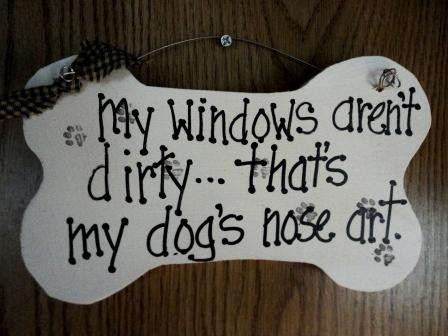dog nose art