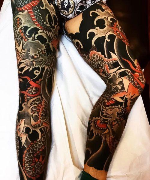 125 Best Japanese Tattoos For Men Cool Designs Ideas Meanings 2020 Japanese Tattoo Japanese Legs Japanese Tattoos For Men