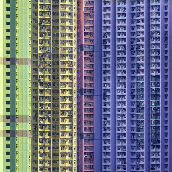 public housing in Sha Tin New Town,New Territories,Hong Kong,China. Used to drive past this everyday on my trip to Tsuen Mun. KL