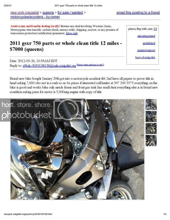 Syracuse Craigslist Motorcycles By Owner   Reviewmotors.co