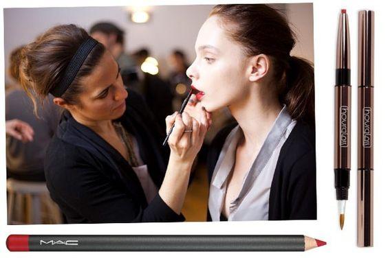 Fotos de moda | Cómo maquillar perfectos labios de color rojo | http://fotos.soymoda.net