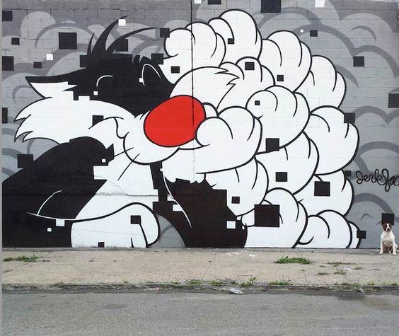 Personagens iconicas da cultura Pop  embelezam e pintam Nova Iorque 7