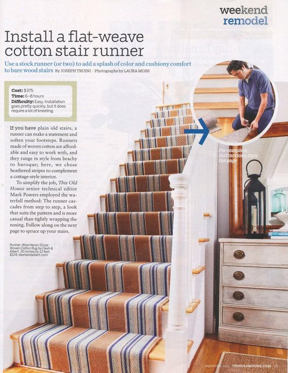 Best Dash And Albert Stair Runner Home Decor Pinterest 400 x 300