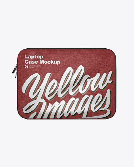 Download Free Mockups Melange Laptop Case Mockup Front View Object Mockups