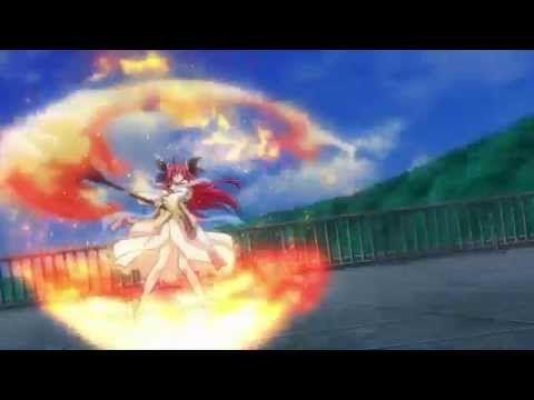 [ENG SUB Director's Cut] Date A Live - Kotori VS Kurumi Extended Fight - YouTube