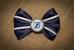 Tampa Bay Lightning Hairbow