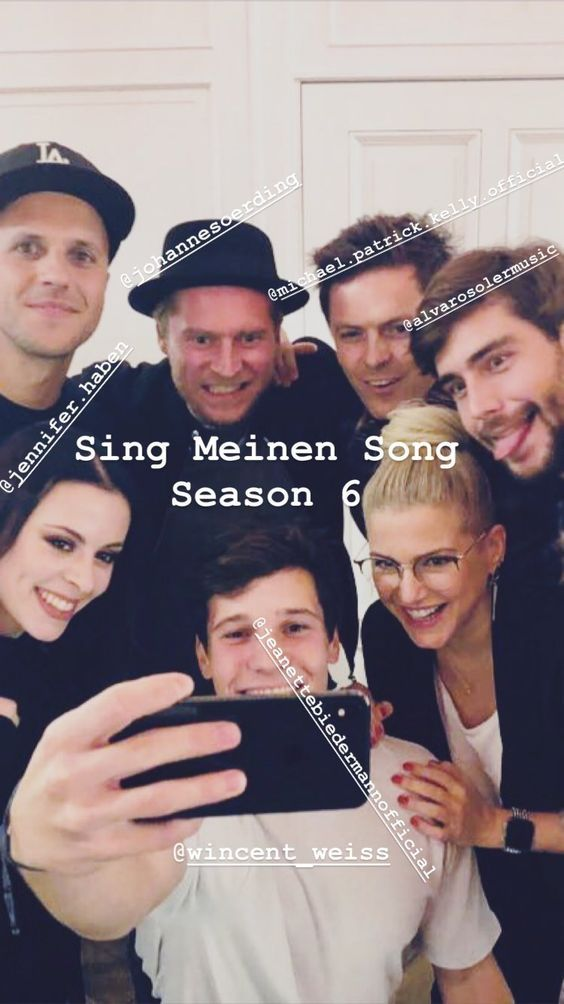 Pin Von Pani Colombova Auf Sing Meinem Song 2019 Wincent Weiss Wincent Paddy Kelly
