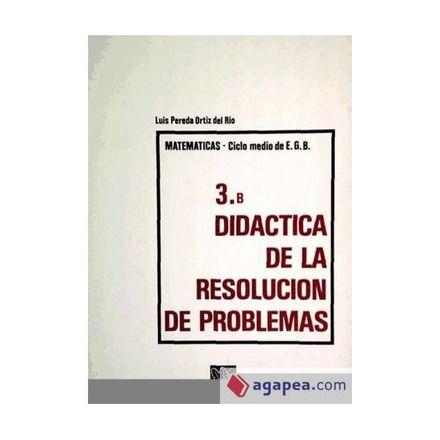 Didáctica de la resolución de problemas. Luis Pereda