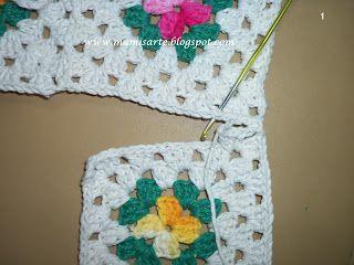 Crochet et Tricot da Mamis: Fevereiro 2012