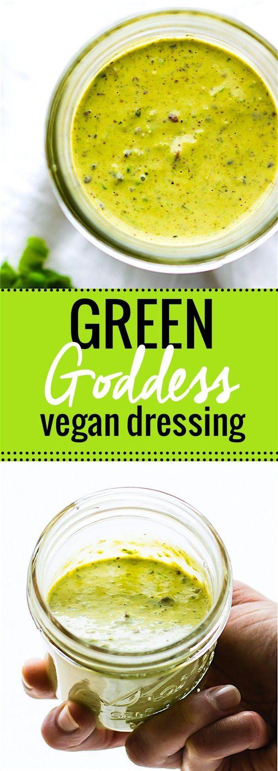 vegan green goddess dressing. This vegan green goddess dressing ...