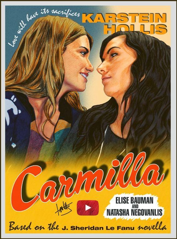 Carmilla Fanart by Karly illustration