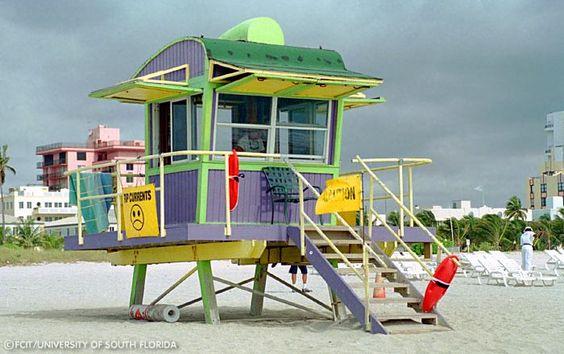 Art Deco Lifeguard Hut, South Beach