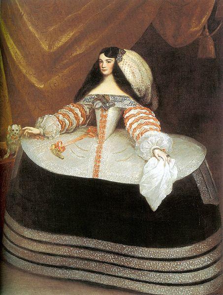 Juan Carreño de Miranda - Inés de Zúñiga, Condesa de Monterrey, c. 1660-1670. Museo Lázaro Galdiano, Madrid.:
