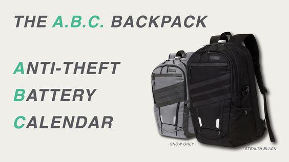 Miniature de la vidéo du projet ABC Backpack:The Ultimate Anti-Theft Bag With…