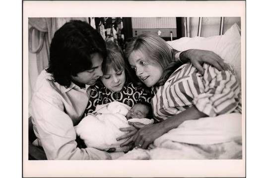 PAUL & LINDA MCCARTNEY - 15 ORIGINAL LINDA McCARTNEY PHOTOGRAPHS from 1968 / 69 mainly from Mary'