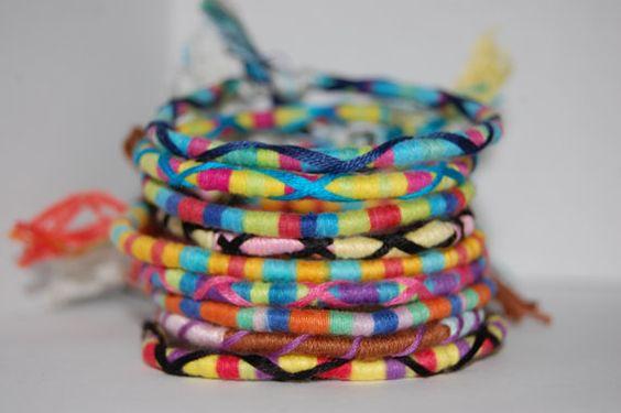 Wrap Friendship Bracelet von KnotAlways auf Etsy
