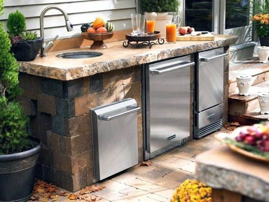 Amazing Outdoor Kitchen Cabinets Bunnings For 2019 Small Outdoor Kitchens Outdoor Kitchen Appliances Diy Outdoor Kitchen