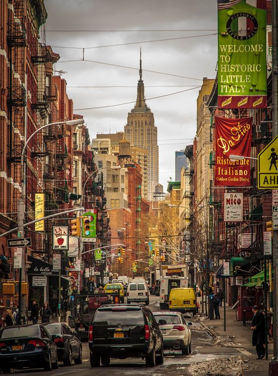 Little Italy, New York...I've walked the streets of Little Italy:ceeanne.