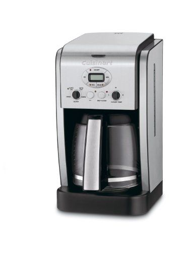 Cuisinart Brew Central 14-cup Programmable Coffeemaker with Glass Carafe - http://www.teacoffeestore.com/cuisinart-brew-central-14-cup-programmable-coffeemaker-with-glass-carafe/