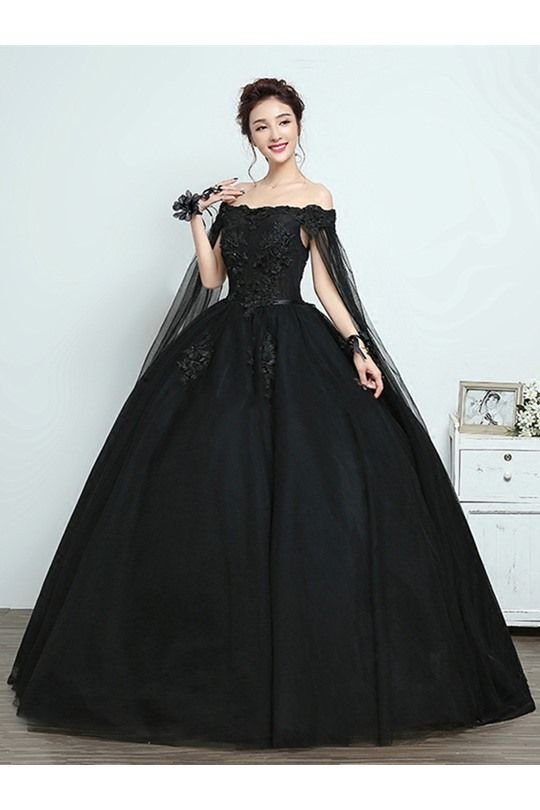 Buy Back Off The Shoulder Vintage Ball Gown Dress Online Dresswe