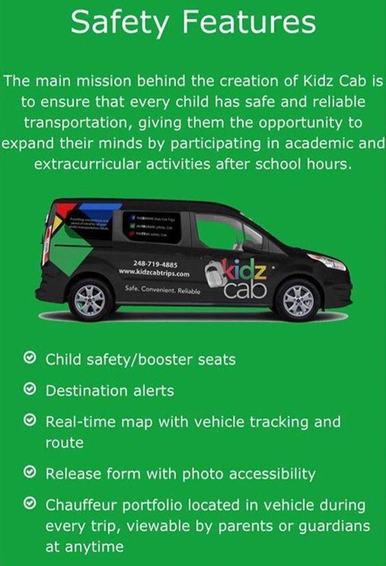 Kidz Cab kidzcabtrips    IG kidz_cab ✨ Safe, Convenient - vehicle release form