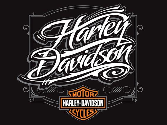 Harley Davidson Script Logo Harley Davidson Script Font