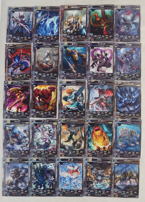 #LordOfVermilion Lord of Vermilion Re:2 : 25 Trading Cards ( Japanese )  http://www.japanstuff.biz/ CLICK THE FOLLOWING LINK TO BUY IT ( IF STILL AVAILABLE ) http://www.delcampe.fr/page/item/id,0348236331,language,F.html