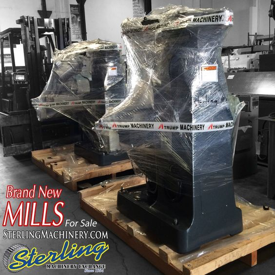 Brand New Atrump Milling Machines for Sale. The perfect gift for your machinist. Call (626) 444 - 0311 or visit SterlingMachinery.com #SterlingMachinery #atrump #mills #milling #machine #machinery #machinist #mill #equipment #eatsleepmachine #warehouse #tooling #new #bridgeport #buy #business #sell #trade #heavyduty #inventory #industry #instock #usa #fabricate #fabrication #metalworking #losangeles #shears #pressbrakes