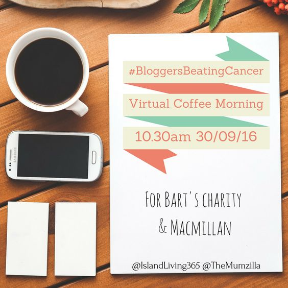 Will you join us? Write a post, use the #bloggersbeatingcancer badge or the picture below if you want to, just let people know what we are hoping to do, when and why. Every penny we raise goes towards two brilliant charities. Cure and care.  #BloggersBeatingCancer – join us on Friday 30th September at 10.30am, for coffee and a social media thunderclap. Use the hashtag, get your friends involved, get fundraising if you can. Please donate to or share our fundraising page. Click through for…