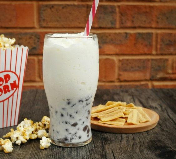 Hong Kong -Style Red Bean Drink