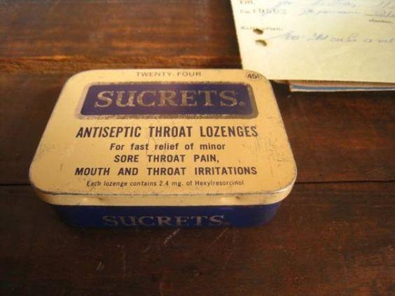 Tins アメリカヴィンテージティン缶薬ケースアンティーク インテリア 雑貨 家具 Antique ¥850yen 〆06月12日