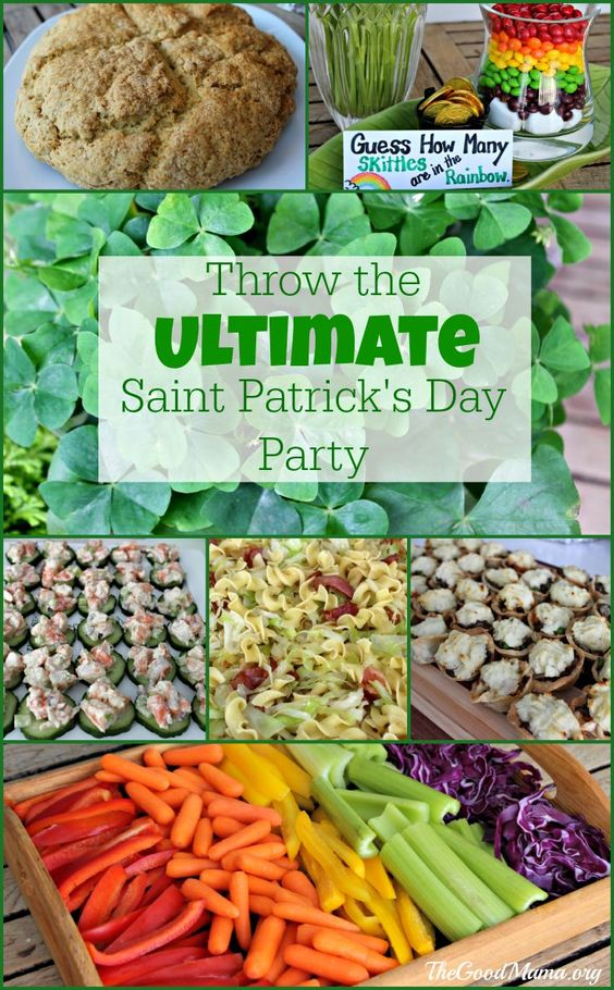 Throw the Ultimate Saint Patrick's Day Party - The Good Mama