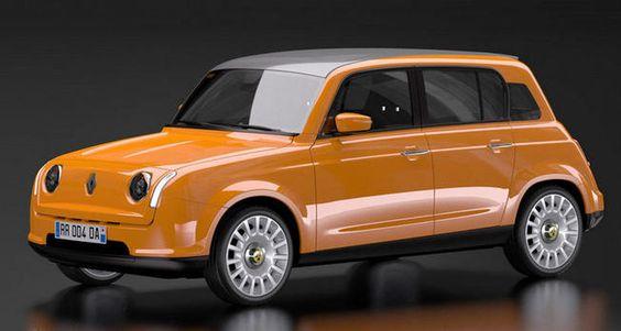 Design : Renault 4L, le concept de David Obendorfer