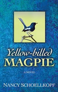 Literary Flits: Yellow-billed Magpie by Nancy Schoellkopf + Giveaw...: