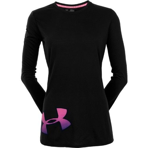 Under Armour Power in Pink She's a Fighter Long Sleeve Tee
