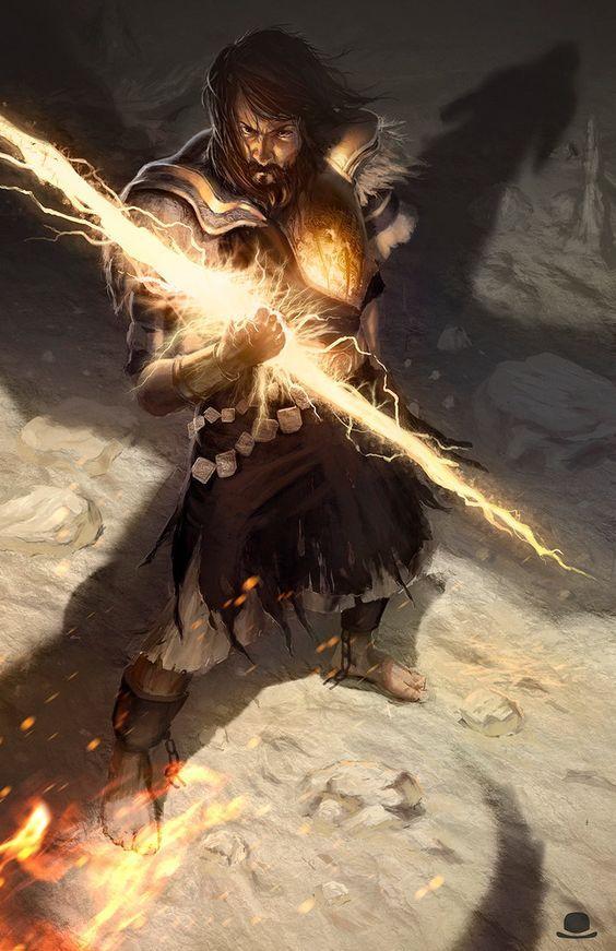 Bolt Fantasy Art