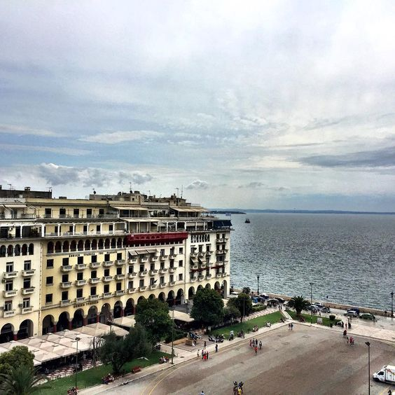 Lunch with the view #love #mycity #thessaloniki