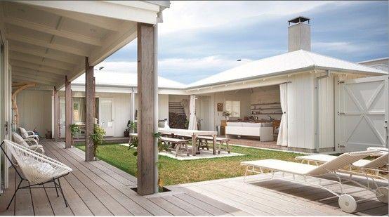 The White House - beach style - New Zealand